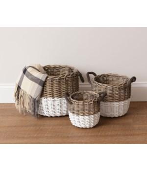 Baskets - Two-Tone, Circular
