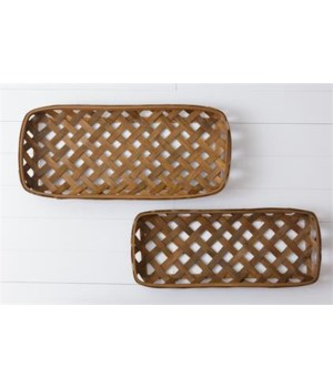 Tobacco Basket - Rustic