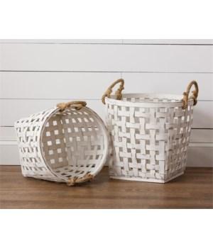 Baskets - Antiqued Tobacco