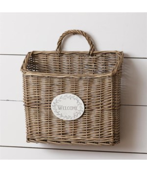 Hanging Basket - Welcome