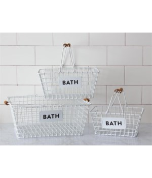 Wire Baskets - Bath