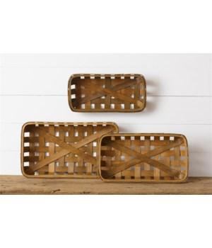 Tobacco Baskets - Brown