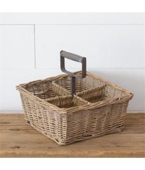 Divided Basket 11.5 in. x 8 in.