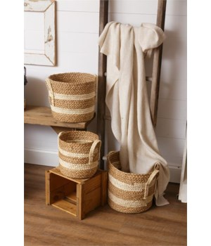 Woven Straw Baskets