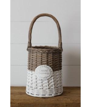 Basket - Choose Happiness, Round