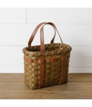 Chipwood Bag With Handles