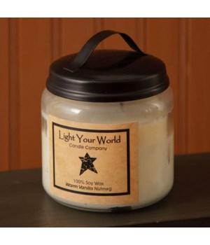Super Scented Soy Warm Vanilla Nutmeg