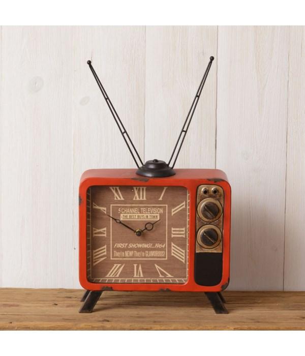 Clock - TV 11 in. x 19 in. x 4 in.