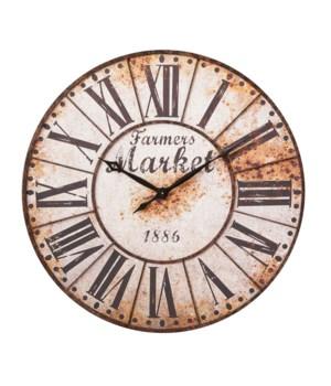 Clock - Farmers Market 36 in.