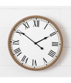 Beaded Wall Clock