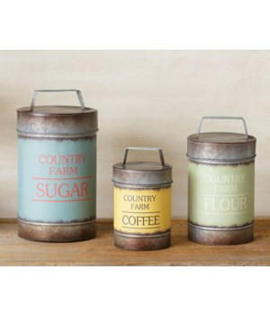 Canisters - Country Farm