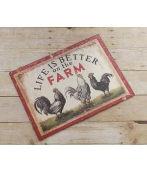 Farm Life - Cutting Board