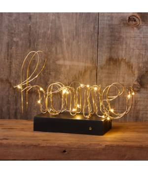 Word Sign - Home 8 in. x 11.5 in. x 3.5 in.
