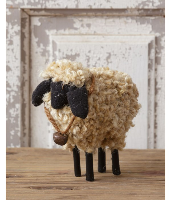 Wooly Sheep With Bell