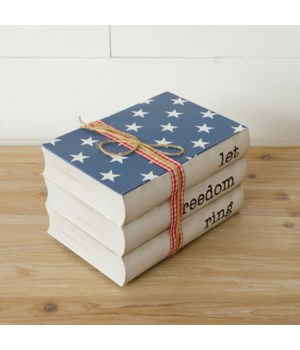 Stamped Books - Let Freedom Ring