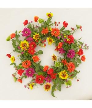 Wreath - Garden Mix