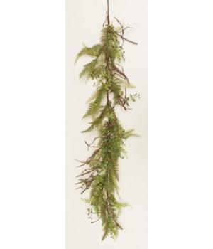 Garland - Ferns & Foliage 64 in.