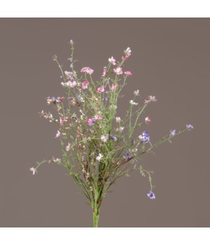 Pick - Asst Pink & Lavender Tiny Flowers & Berries 19 in.