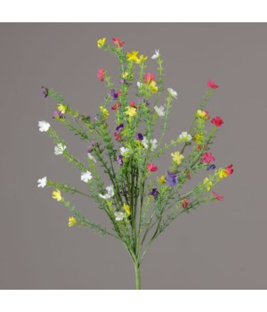 Branch - Assorted Color Tiny Flowers 22 in.