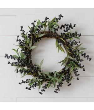 Wreath - Blueberries