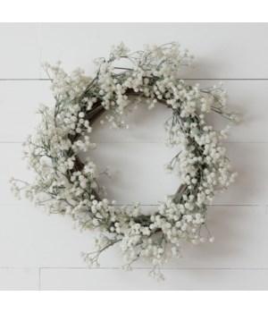 Wreath - Babies Breath