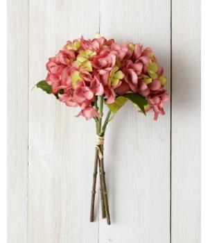 Bunch - Hydranga, Dusty Rose