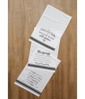 Tea Towels - Blessings, Faith, Life
