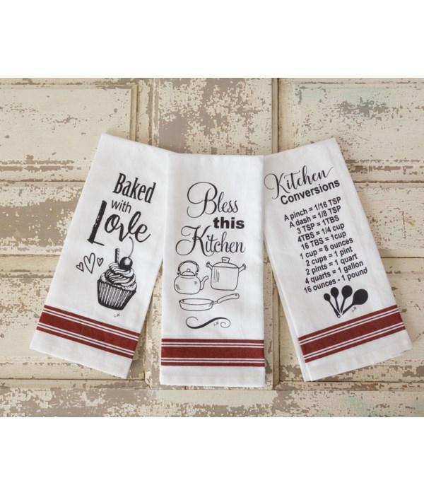 Tea Towels - Kitchen Love