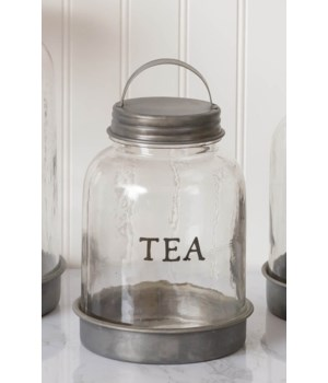 Glass Tea Canister