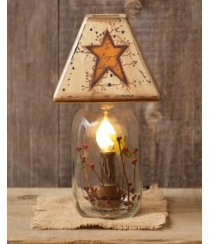 Electric Jar Light - Primitive Star