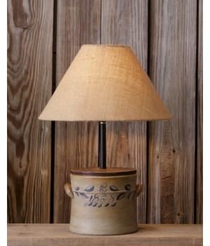 Lamp - Crock 1838