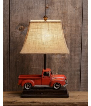 Lamp - Vintage Truck 21 in. x 14.5 in.