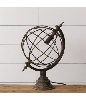 Lamp - Sphere 18 in. x 18 in. x 11 in.