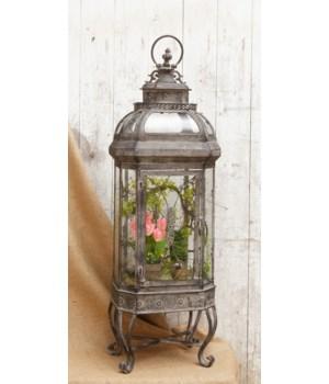 Lantern - Floral Embellishments
