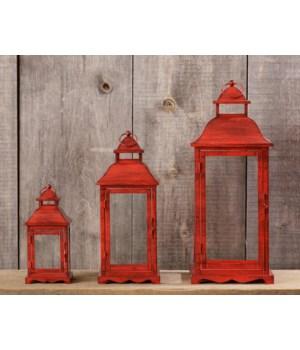 Lanterns - Red
