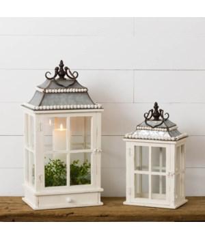 Beaded Lanterns With Drawer
