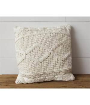 Pillow - Knitted, Cream