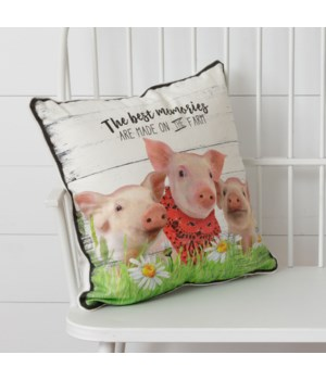 Pillow - The Best Memories Are On The Farm