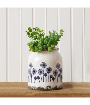 Pottery - Dandelion, Lg
