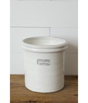 White Cottage Stoneware, Small