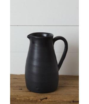 Pitcher - Black Matte, Large