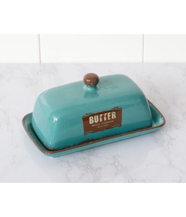 Retro Butter Dish
