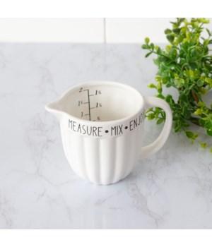 Measuring Cup - Measure, Mix, Enjoy