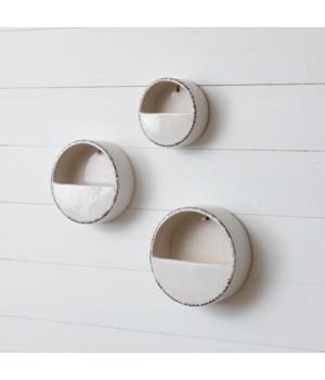 Hangable Wall Planter - Distressed