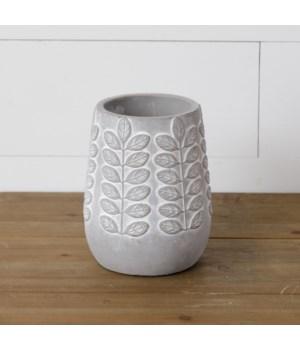 Planter - Embellished Cement