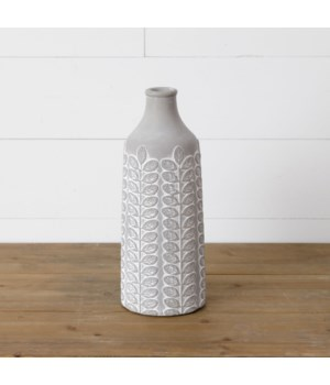 Vase - Embellished Cement, Tall