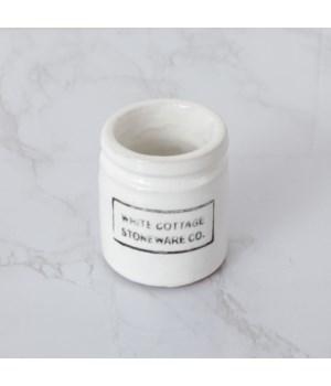 White Cottage Stoneware - Mini
