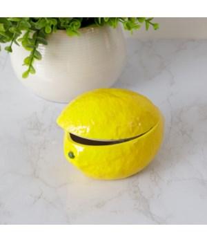 Decorative Lemon Dish With Lid