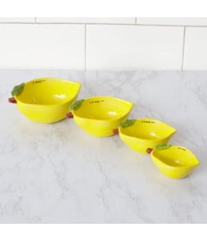 Measuring Cups - Lemon
