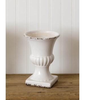 Pottery - Crackle Urn, Sm